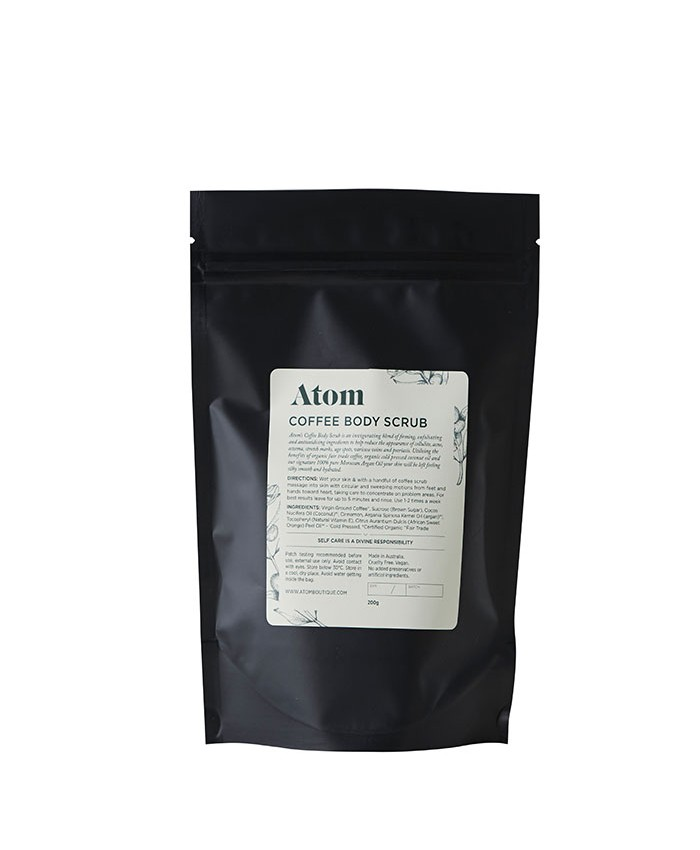 Atom Boutique Coffee Scrub 100ml
