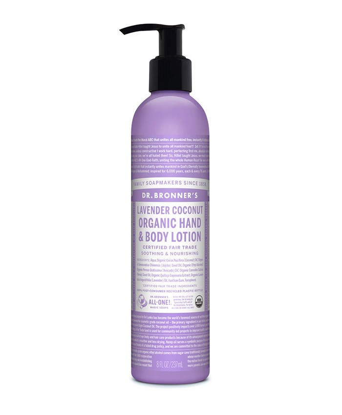 Dr Bronner's Organic Hand and Body Lotion 236ml