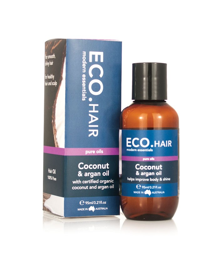 ECO. Coconut and Argan Hair Oil