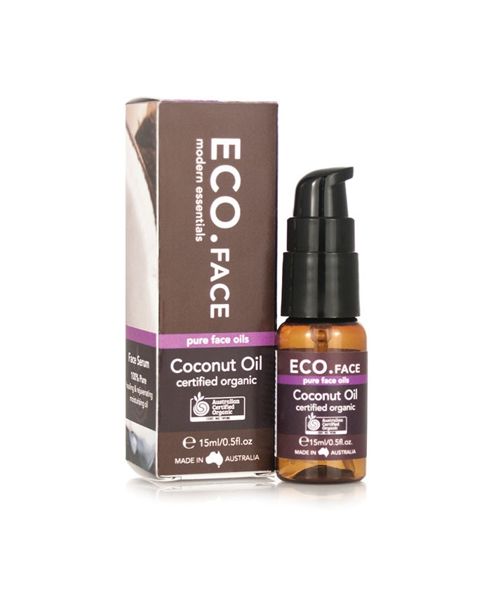 ECO. Certified Organic Coconut Face Oil