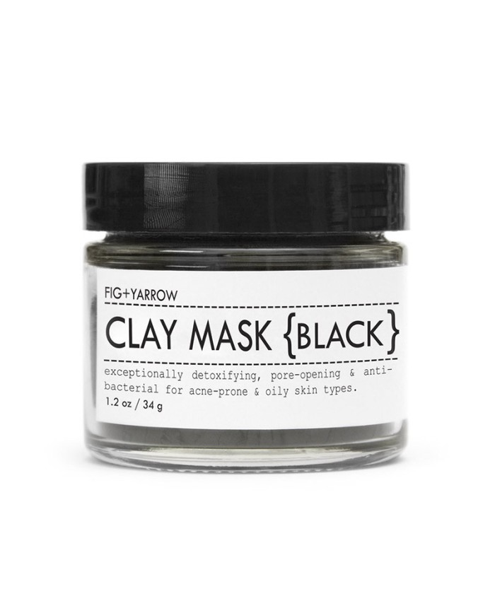 Fig and Yarrow Clay Mask (Black) 34g