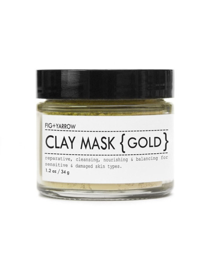 Fig and Yarrow Clay Mask (Gold) 34g