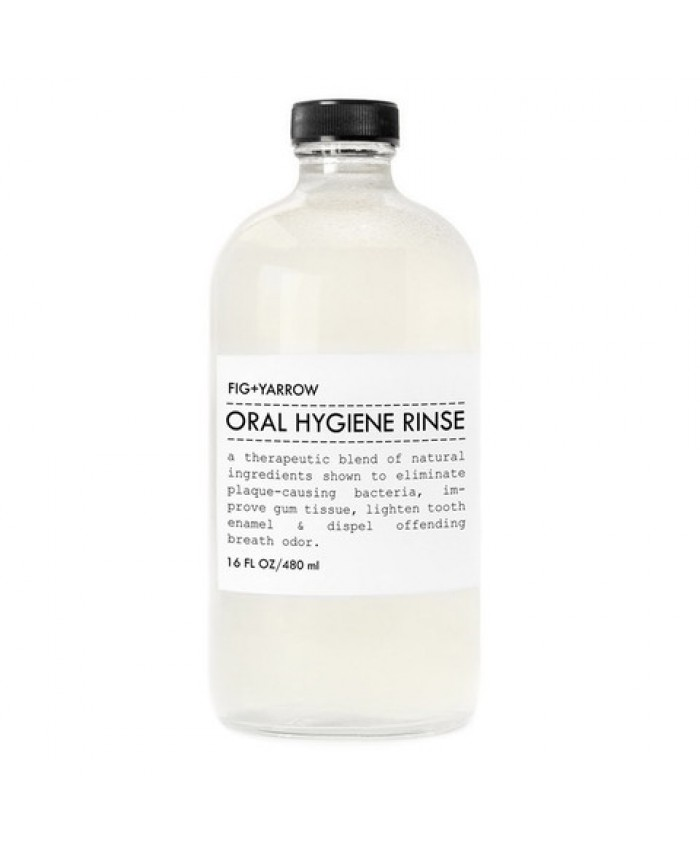 Fig and Yarrow Oral Hygiene Rinse