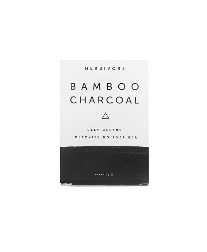 Herbivore Charcoal Cleansing Bar Soap