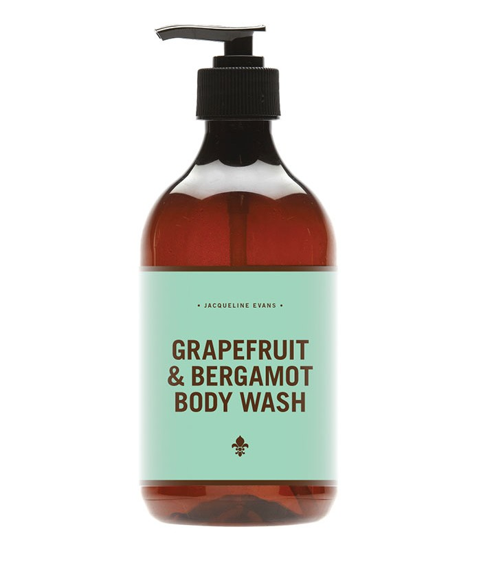 Jacqueline Evans Grapefruit and Bergamot Body Wash