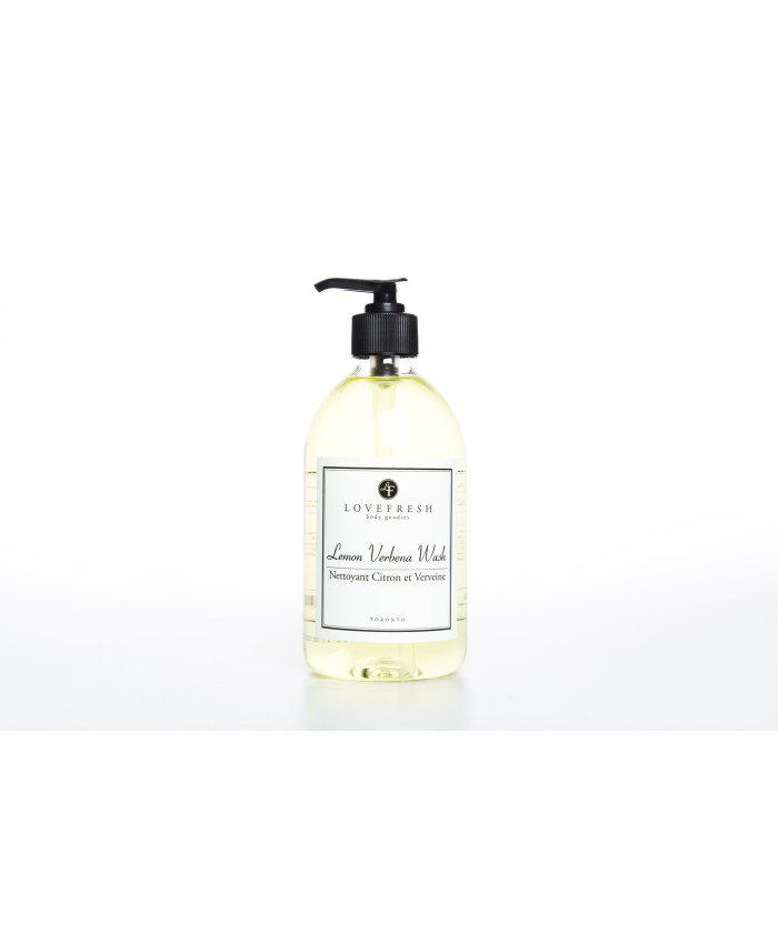 Lovefresh Lemon Verbena Hand and Body Wash