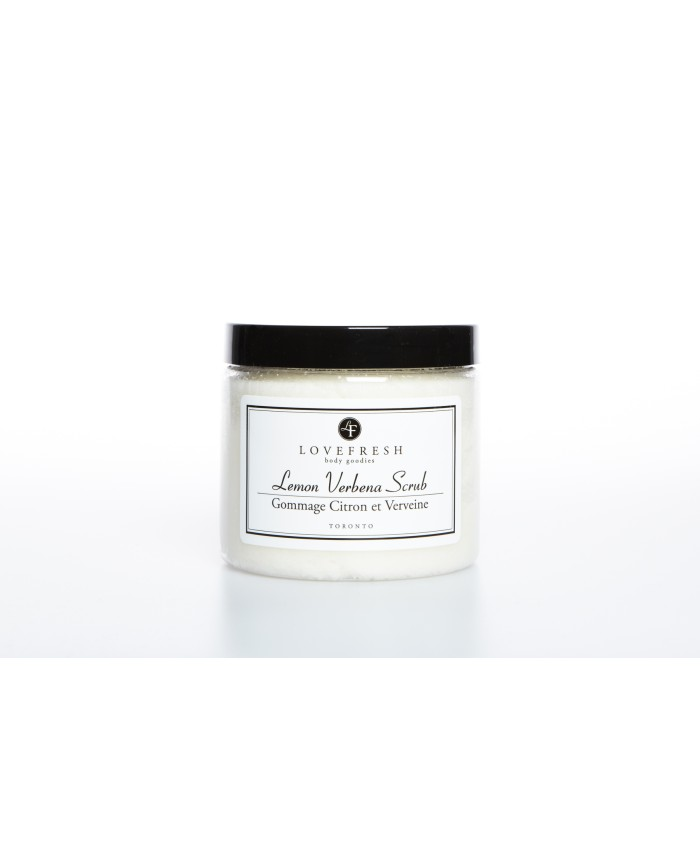 Lovefresh Lemon Verbena Scrub