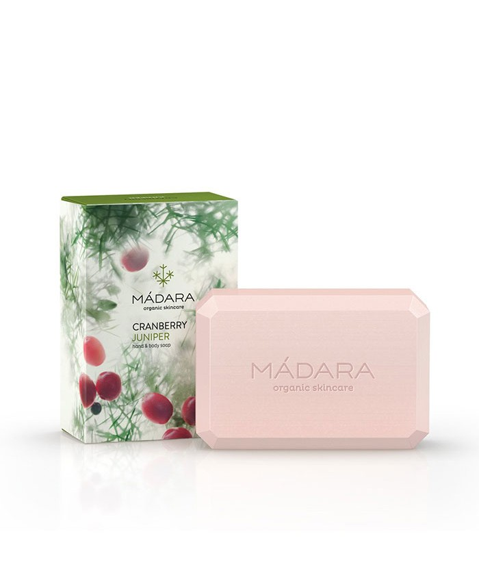 Madara Cranberry and Juniper Soap