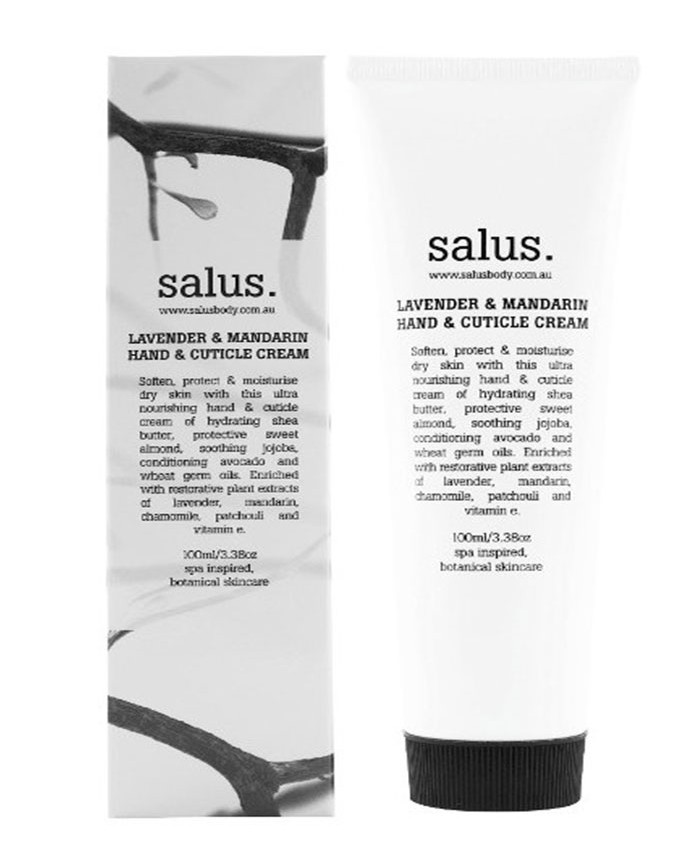 Salus Lavender and Mandarin Hand and Cuticle Cream 100ml