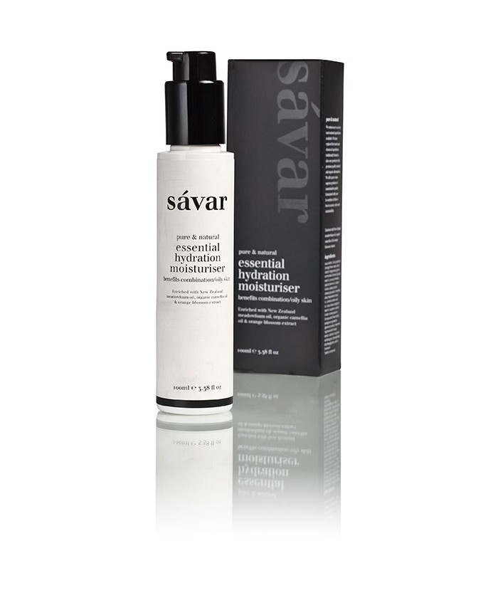Savar Essential Hydrating Moisturiser - Combination/Oily 100ml