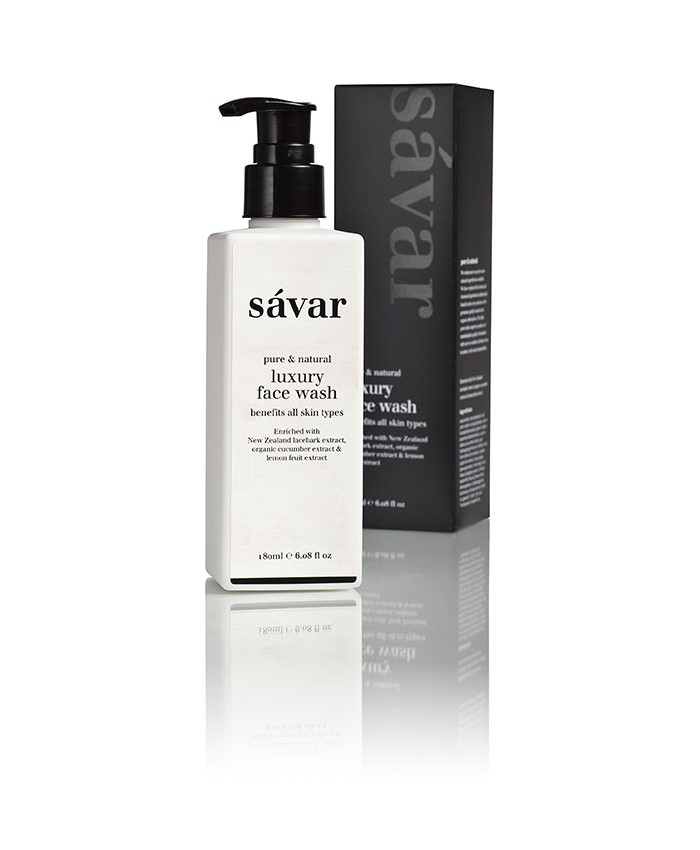 Savar Natural Luxury Face Wash 180ml
