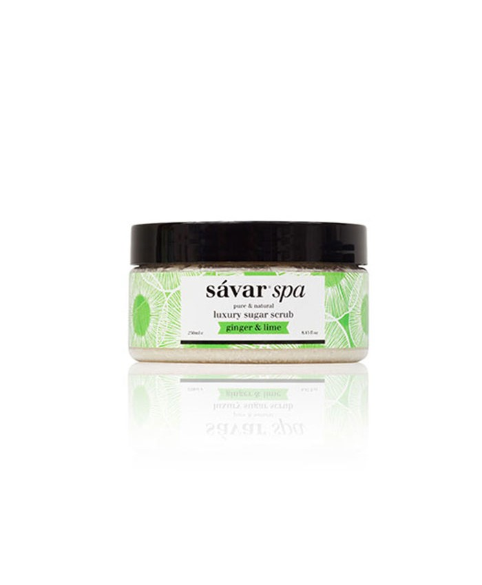 Savar Ginger and Lime Luxury Sugar Scrub 250ml