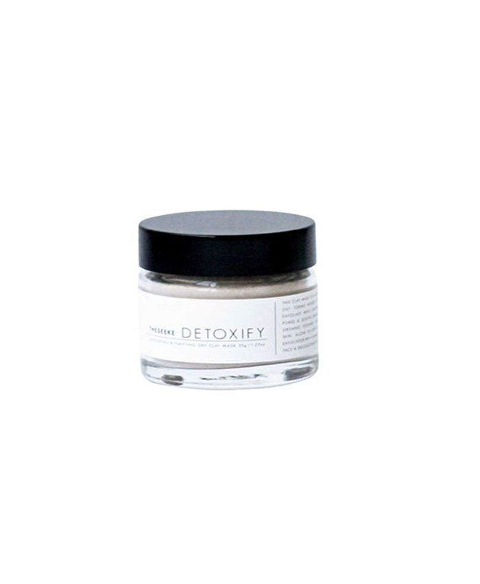 The Seeke Detoxify Dry Clay Mask