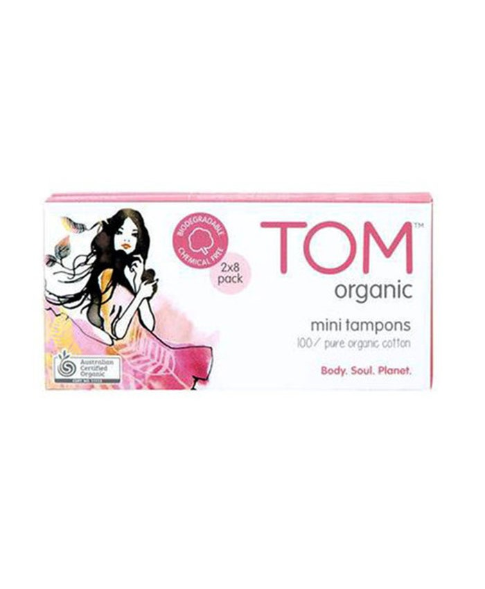Tom Organic Mini Tampons 16 pack
