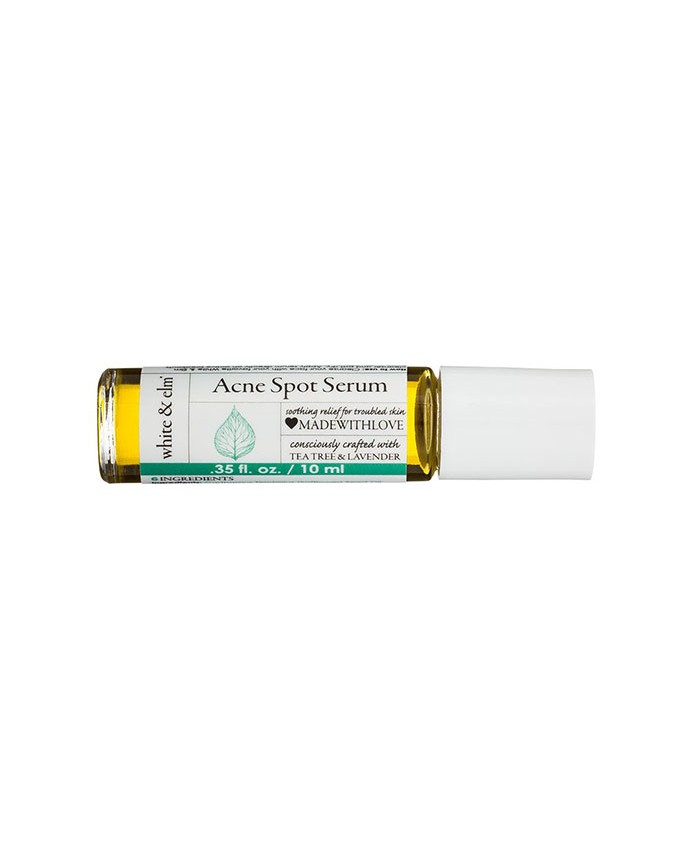 White and Elm Tea Tree and Lavender Acne Spot Treatment 10ml