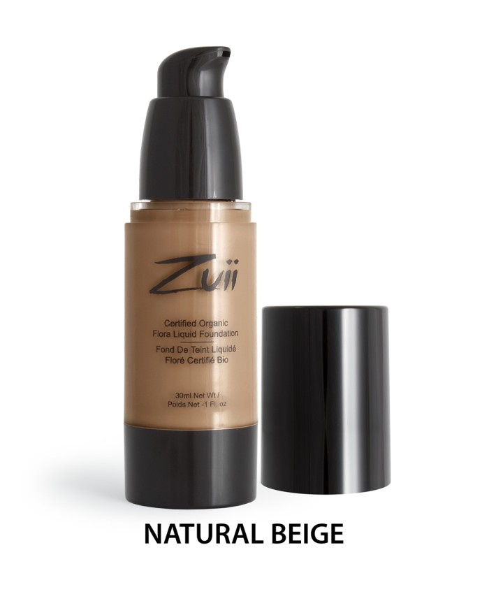 Zuii Organic Flora Liquid Foundation Natural Beige