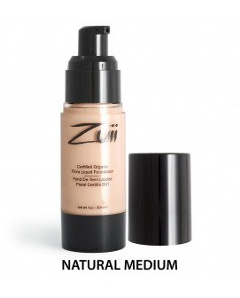 Zuii Organic Flora Liquid Foundation Natural Medium